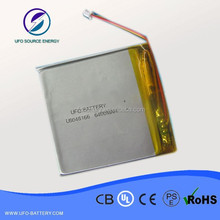 609896 6400mAH unit lipo rechargeable pristmatic cell for pendant lights