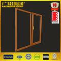 duradero de aluminio de la ventana de madera diseños de marcos