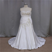lace covered back bottom satin wedding dresses 2012