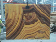 Imported Mexican polished yellow marble yellow onyx project