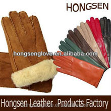 HS726 Whole Touch-Screen Promotion Fashion men & women nappa skin classic leather gloves