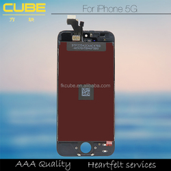Mobile Parts LCD with Touch Screen for iPhone 5G with Superior Quality