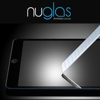clear explosion-proof tempered glass screen protector for ipad 2/3/4 with original nuglas retail