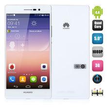 Huawei Ascend P7 4G Android4.4 Hisilicon Kirin 910T Quad-core 2GB 16GB 5.0inch 1920 x 1080 Screen 8.0MP+13.0MP Dual Camera Phone