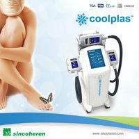Coolplas vacuum cryotherapy fat freezing cellilite body sculpting slimming massage machine