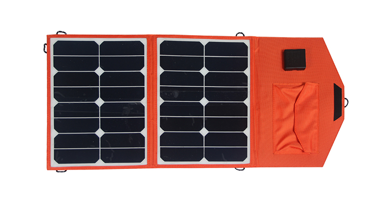 Jane 23% High efficiency solar panel / 30W Folding solar charging bag / folding solar energy bag for laptop
