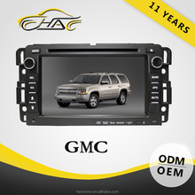 For gmc car dvd player factory with dvd tv fm