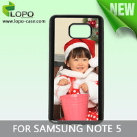 new products rubber heat transfer cover, sublimation silicon phone case for Samsung galaxy note 5