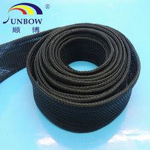 flame retardant PET expandable woven mesh sleeving