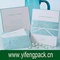 Exclusivo cartões de casamento convite com a noiva e bridegroom's nome e data do casamento pode ser impresso em