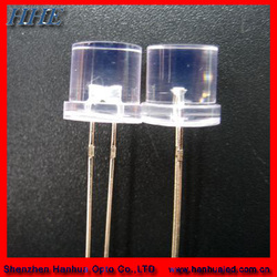 factory price led 8mm flat top led