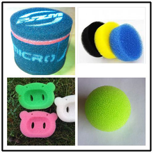 High performance motorcycle sponge air filter