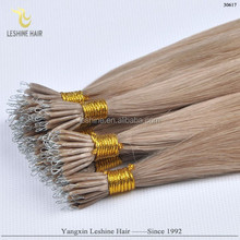 China Supplier Hot Fashion Style Healthy Noble Easy Locks pre-bonded hair nano hair