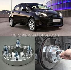 Brand New Billet 4 Lug 12*1.5 Studs Toyota Yaris wheel spacer 2005-2013, wheel spacer 4x100