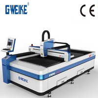 Fiber IPG 1KW Laser Cutter Machine Cutting Stainless Steel,Carbon Steel,Inox Sheet