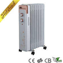 New design high quality electric oil filled portable heater for bed room