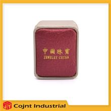 hot sale dongguan packaging custom logo velvet earring jewelry box