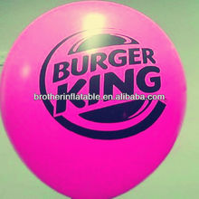 Beautiful advertising color pearlized balloons
