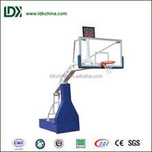 Remote Control Electric Hydraulic Baskeball Backstop basketball stand for basketball equipment