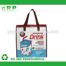 Fashion Pattern Of pp printing woven shopping bag