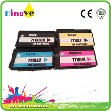 2015 new model compatible ink cartridges for hp 711
