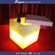 hot sale new design Rechargeable led furniture cube