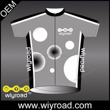 OEM service cycling jersey short suit,grey cycling jersey ,coolmax cycling jerseys short sleeve with very good price