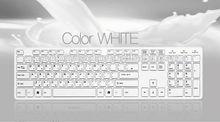 ultra ligero y delgado teclado