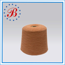 Ne 22/1 Polyester/Linen Semi-bleached Wet-spun Yarn 70%/30% for Knittng and Weaving