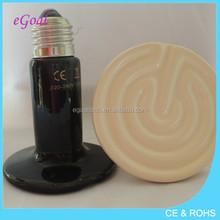 Ceramic Electric Heating Element Infrared Heater Black 400W 220V/230V