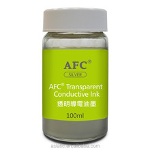 Made in Taiwan, Large Area Coating Aqueous Formulations Silver Transparent Conductive Ink, Film
