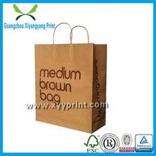 Eco-environment Cheap price custom printed factory OEM production kraft paper bags