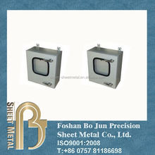 Sheet metal fabrication service customized powder coated steel box, electronic enclosures
