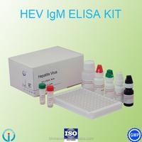 Quality Assurance HEV Elisa test kit / Hepatitis E Virus Elisa test reagent