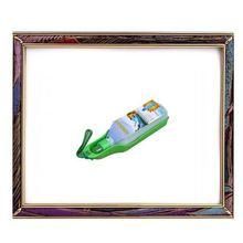 Uw-pd-001300ml portátil não - tóxico verde pet bebedor de água para pequenos animais, Cão bebedor, Gato bebedor