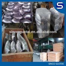 El precio bajo, de alta calidad dn400 codo de acero inoxidable
