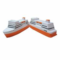 PU Ship shape advertising pu toy anti stress ball