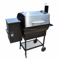 High Quality Balcony steel Wood Pellet Grill Designs