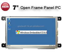 Frameless 7 Inch Touch Screen Computer with RS232 ,RJ45 Port