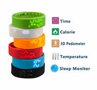 2015 New lowest price wristband watch pedometer sportline pedometer watch