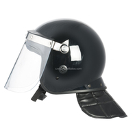 Security or Military Anti-riot Protection Helmet PC and ABS Hard Plastic