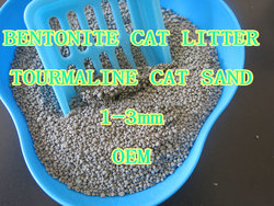 best clean bentonite cat sand with tourmaline manufacturer oem