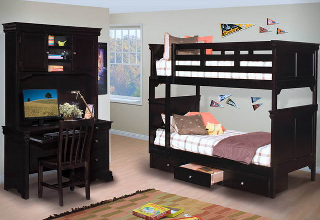 Bunk Bed For Adult,Cheap Wood Bunk Beds,Adult Bunk Bed - Buy Bunk Bed ...