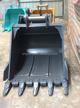 large volume, excavator capacity, excavator attachment, excavtor R430/450/480 Hyundai bucket
