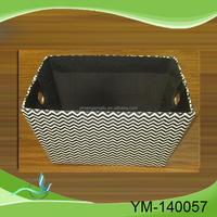 China Wholesale custom paper board fabric storage box