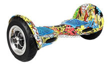 Blowout resistant solid tyre self balancing scooter for kids and adults