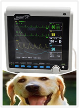 ECG/NIBP/SPO2/PR Veterinary 8.4 inch multi-parameter Vet Patient Monitor for animal