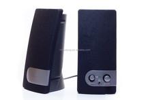 220V/110V ac power Black Multimedia 2.0 Computer Speakers for computer