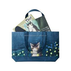shopping bag tote organic/trolley bag shopping