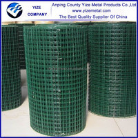 China supplier1/2 inch pvc coated welded wire mesh/1/2 inch welded wire mesh (manufacturer)